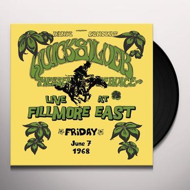 Quicksilver Messenger Service LIVE AT FILLMORE EAST FRIDAY JUNE 7 1968 Vinyl Record