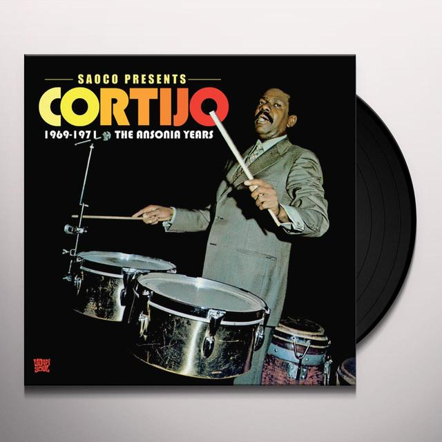 Cortijo ANSONIA YEARS: 1969-1971 Vinyl Record