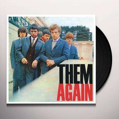 THEM AGAIN Vinyl Record