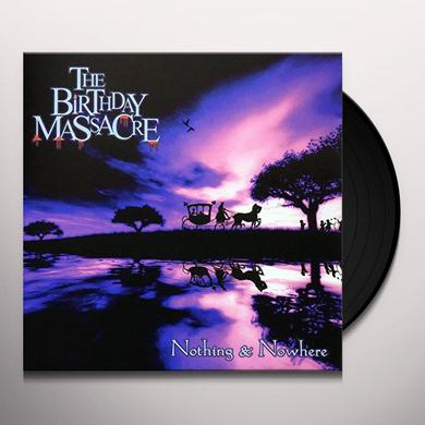 The Birthday Massacre NOTHING AND NOWHERE Vinyl Record - Limited Edition