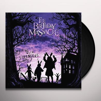 The Birthday Massacre WALKING WITH STRANGERS Vinyl Record - Limited Edition