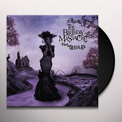 The Birthday Massacre PINS AND NEEDLES Vinyl Record - Limited Edition