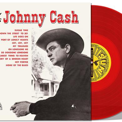 NOW HERE'S JOHNNY CASH Vinyl Record