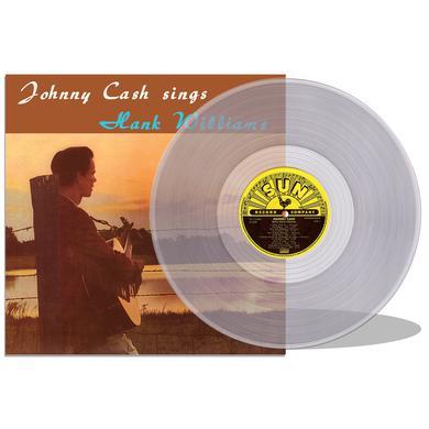 JOHNNY CASH SINGS HANK WILLIAMS Vinyl Record