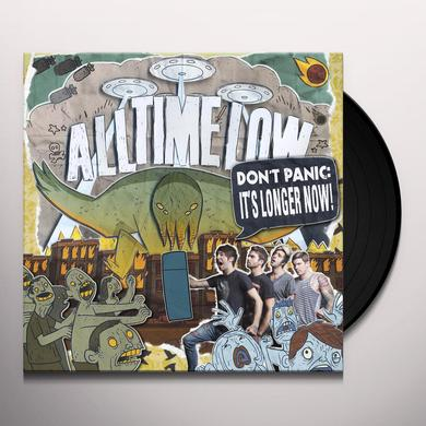 All Time Low DON'T PANIC: IT'S LONGER NOW Vinyl Record - Gatefold Sleeve, Digital Download Included