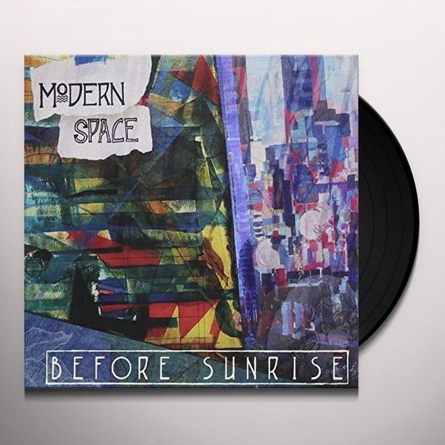 MODERN SPACE BEFORE SUNRISE Vinyl Record - Canada Import