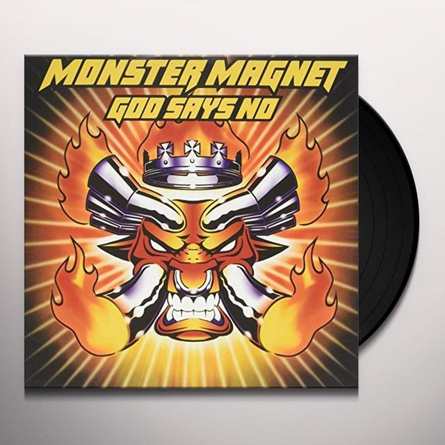 Monster Magnet GOD SAYS NO: DELUXE EDITION Vinyl Record - Deluxe Edition, UK Import