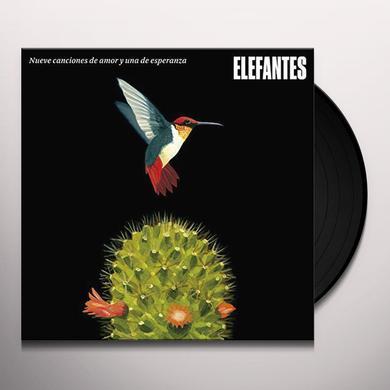 ELEFANTES NUEVE CANCIONES DE AMOR Y UNA DE ESPERANZA Vinyl Record