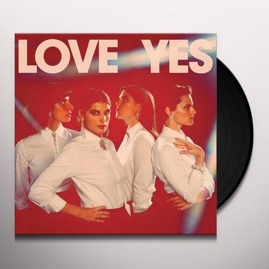 Teen LOVE YES Vinyl Record