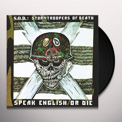 S.O.D. SPEAK ENGLISH OR DIE (30TH ANNIVERSARY EDITION) Vinyl Record
