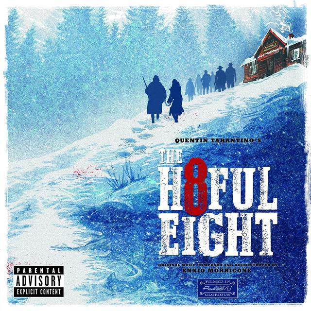 QUENTIN TARANTINO'S THE HATEFUL EIGHT / O.S.T. Vinyl Record