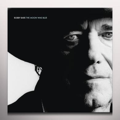 Bobby Bare MOON WAS BLUE Vinyl Record - Blue Vinyl, Colored Vinyl