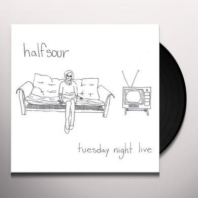 HALFSOUR TUESDAY NIGHT LIVE Vinyl Record