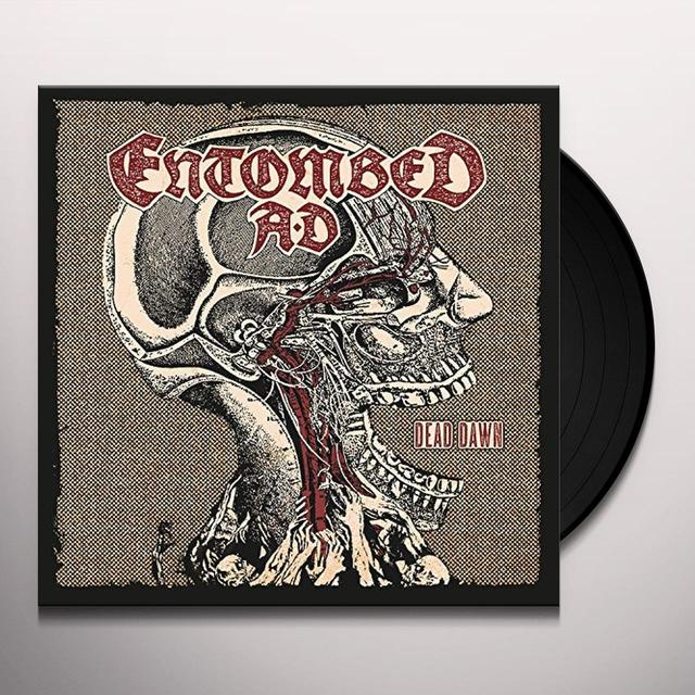 Entombed Ad DEAD DAWN Vinyl Record - Gatefold Sleeve