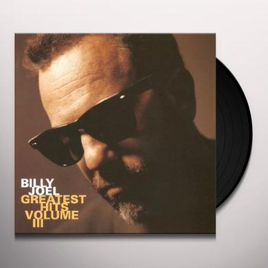Billy Joel GREATEST HITS III Vinyl Record - Gatefold Sleeve, Limited Edition, 180 Gram Pressing