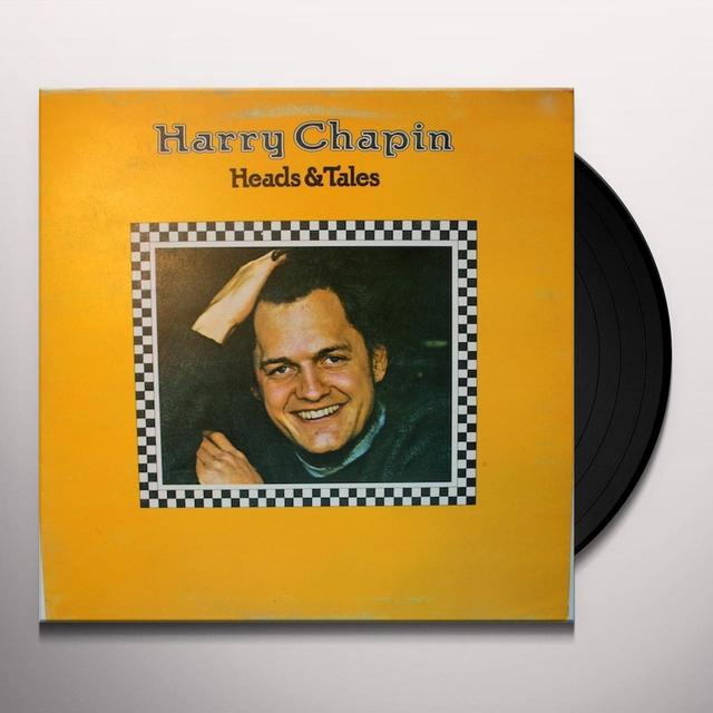 Harry Chapin HEADS & TAILS FEATURING TAXI Vinyl Record - Gatefold Sleeve, Limited Edition, 180 Gram Pressing