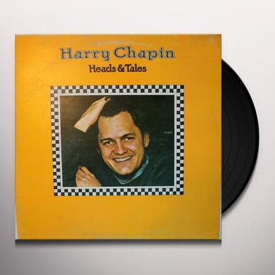 Harry Chapin HEADS & TAILS FEATURING TAXI Vinyl Record