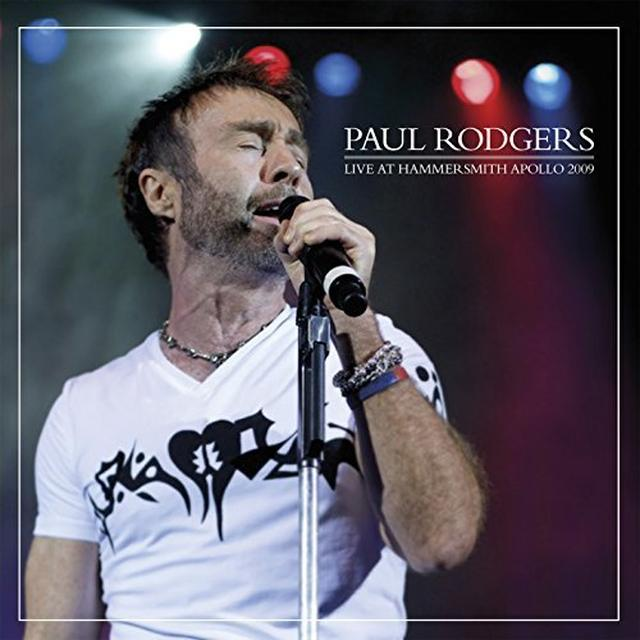 Paul Rodgers LIVE AT HAMMERSMITH 2009 Vinyl Record - Gatefold Sleeve