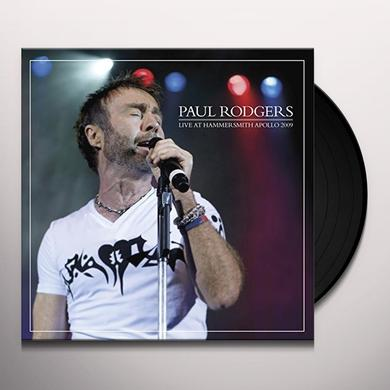 Paul Rodgers LIVE AT HAMMERSMITH 2009 Vinyl Record