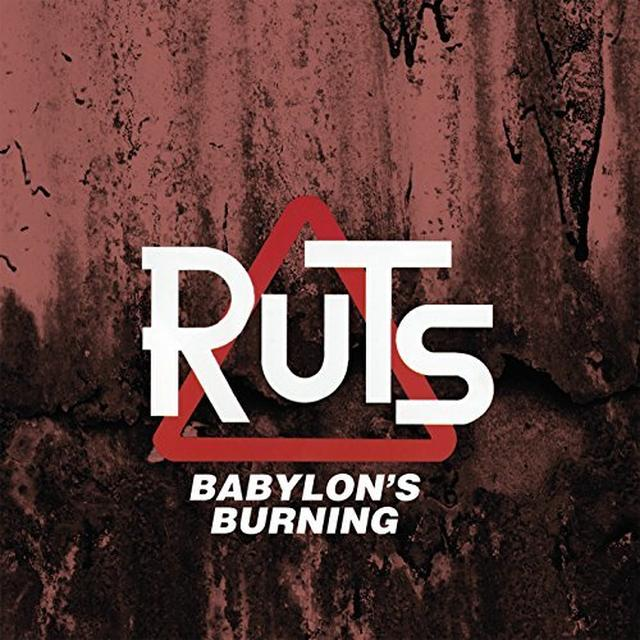 Ruts BABYLON'S BURNING Vinyl Record - Gatefold Sleeve