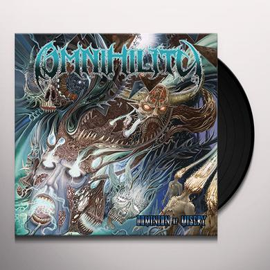 Omnihility DOMINION OF MISERY Vinyl Record