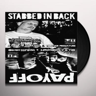 STABBED IN THE BACK / PAYOFF Vinyl Record