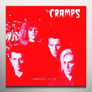 The Cramps GRAVEST HITS Vinyl Record - Red Vinyl