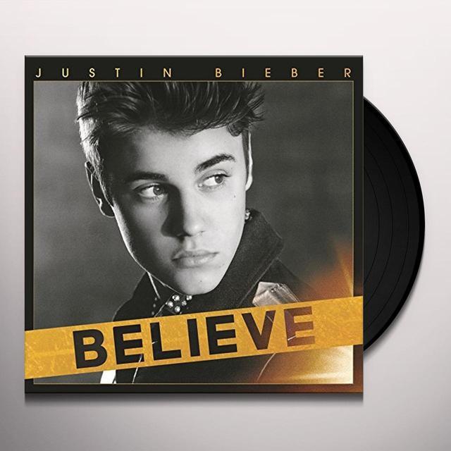 Justin Bieber BELIEVE Vinyl Record
