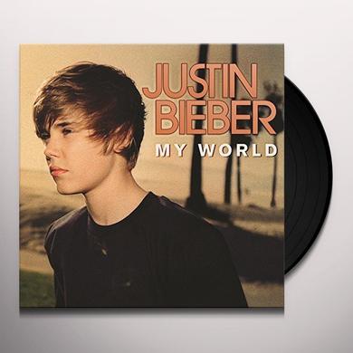 Justin Bieber MY WORLD Vinyl Record