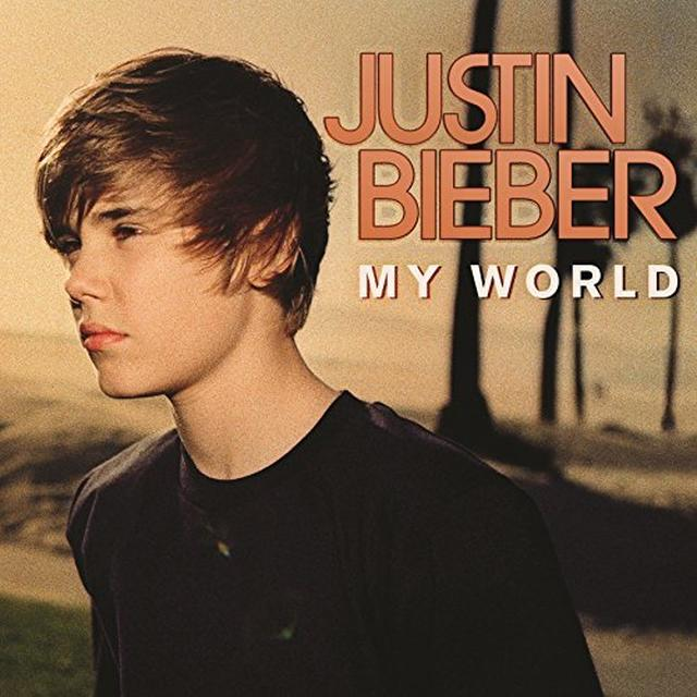 Justin Bieber MY WORLD Vinyl Record