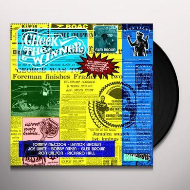 Glen Brown CHECK THE WINNER Vinyl Record