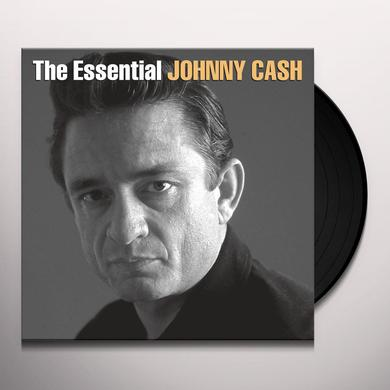 ESSENTIAL JOHNNY CASH Vinyl Record