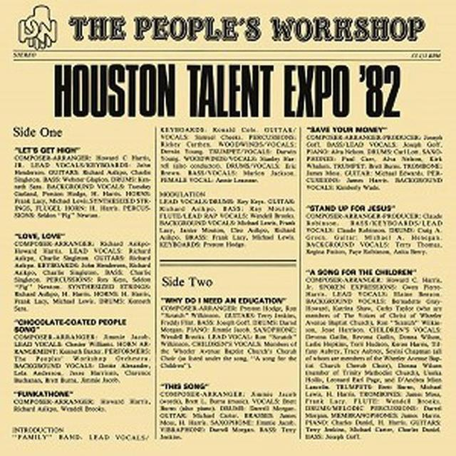 PEOPLE'S WORKSHOP HOUSTON TALENT EXPO '82 Vinyl Record - 180 Gram Pressing