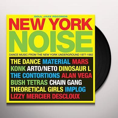 Soul Jazz Records Presents NEW YORK NOISE Vinyl Record