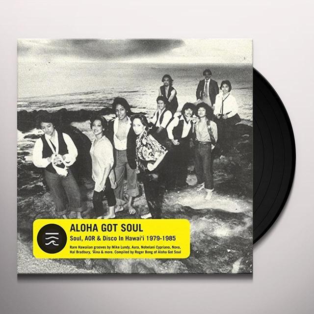 ALOHA GOT SOUL / VARIOUS Vinyl Record
