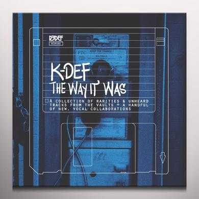 K-Def WAY IT WAS Vinyl Record - Blue Vinyl