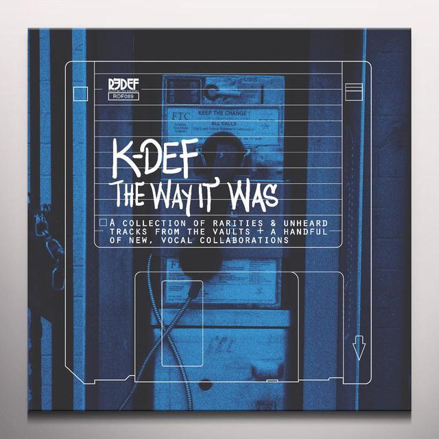 K-Def WAY IT WAS Vinyl Record