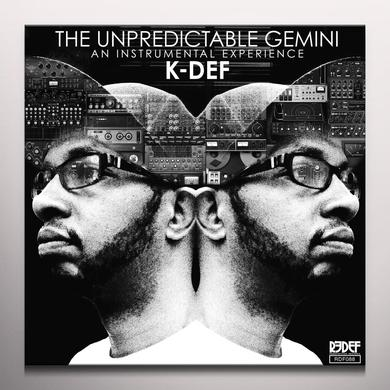 K-Def UNPREDICTABLE GEMINI Vinyl Record - Red Vinyl