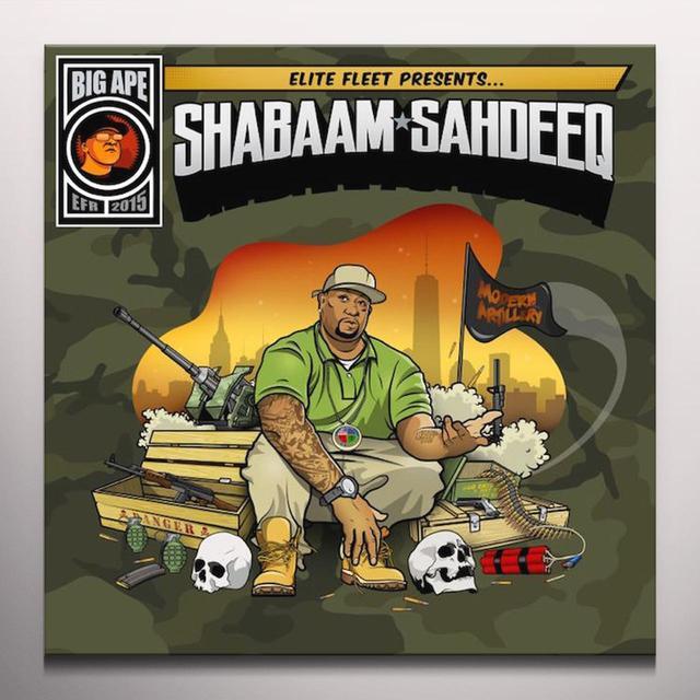 Shabaam Sahdeeq MODERN ARTILLERY Vinyl Record - Orange Vinyl