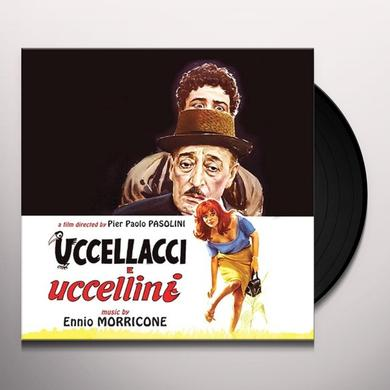 Ennio Morricone UCCELLACCI E UCCELLINI / O.S.T. Vinyl Record