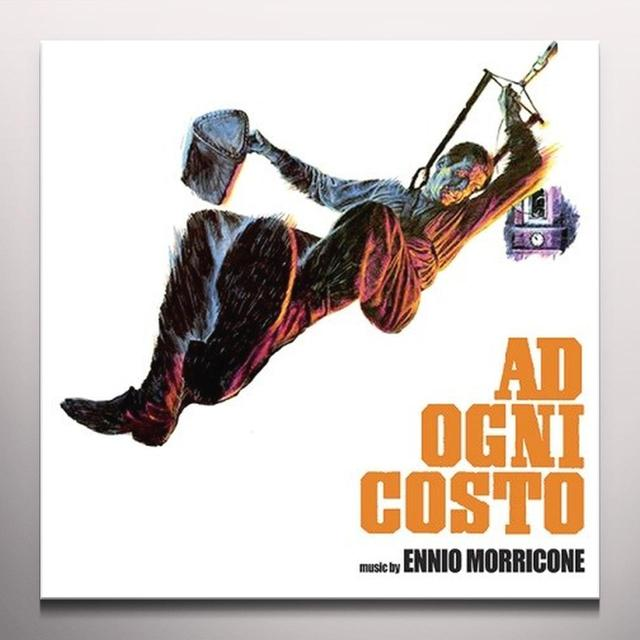 MORRICONE,ENNIO (LTD) (OGV) (ORG) AD OGNI COSTO / O.S.T. Vinyl Record - Limited Edition, 180 Gram Pressing, Orange Vinyl