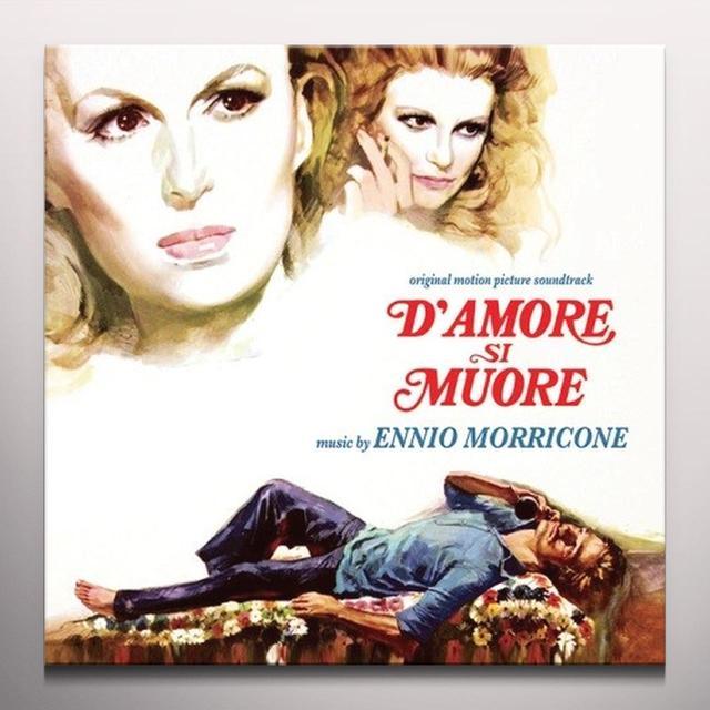 Ennio Morricone D'AMORE SI MUORE / O.S.T. Vinyl Record - Limited Edition, 180 Gram Pressing, White Vinyl