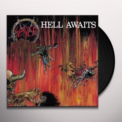 Slayer HELL AWAITS Vinyl Record - Holland Release
