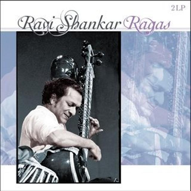Ravi Shankar RAGAS Vinyl Record - Holland Import