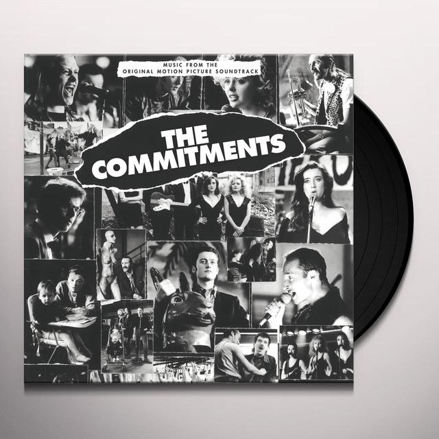 COMMITMENTS / O.S.T. (HOL) COMMITMENTS / O.S.T. Vinyl Record - Holland Import