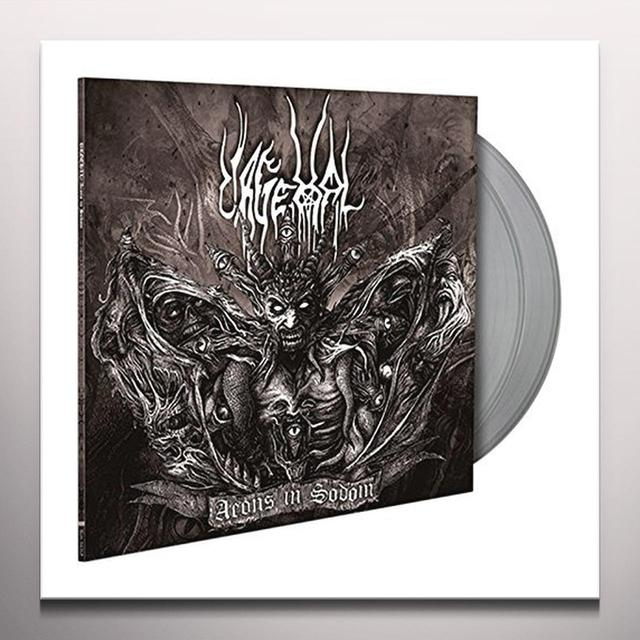 Urgehal AEONS IN SODOM (CLEAR VINYL) Vinyl Record - Clear Vinyl, UK Import
