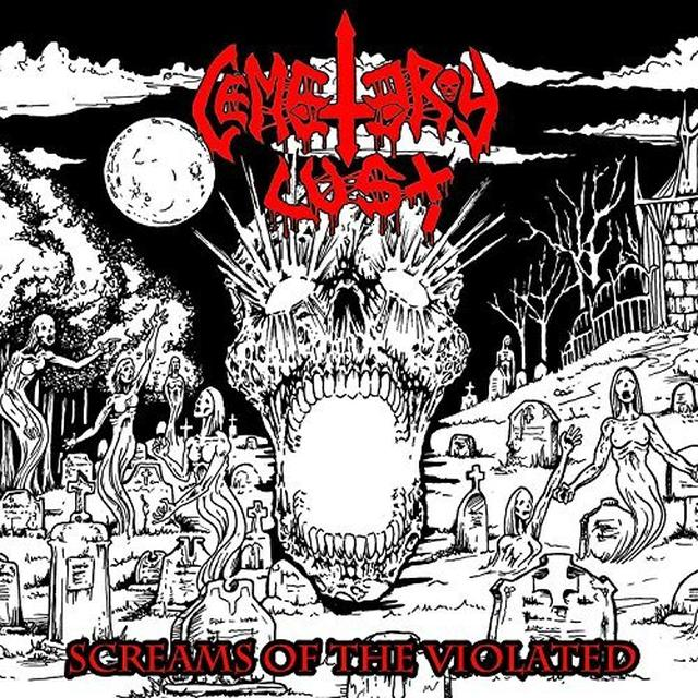 CEMETARY LUST SCREAMS OF THE VIOLATED Vinyl Record - UK Import