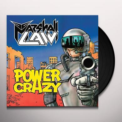 MARSHALL LAW POWER CRAZY Vinyl Record