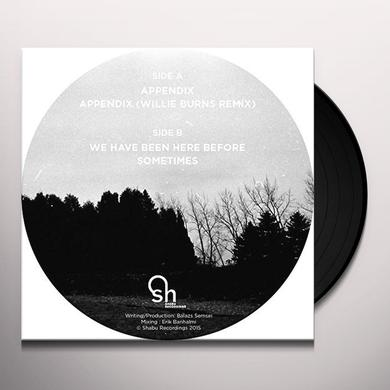 NORWELL APPENDIX Vinyl Record - UK Import