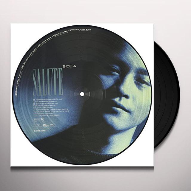 Leslie Cheung SALUTE /LTD 33 1/3 180G PICTURE VINYL VERSION B Vinyl Record